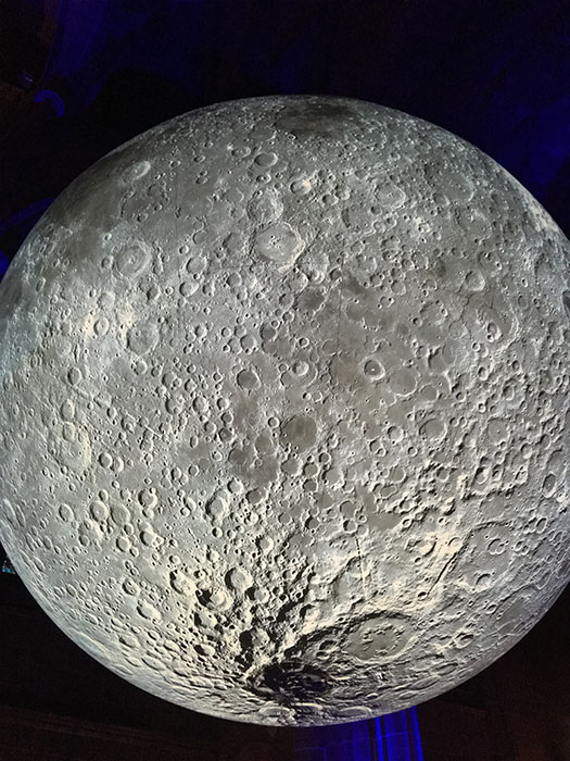 Museum of the Moon. Close up