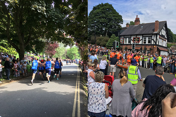 Knaresborough Bed Race 2018