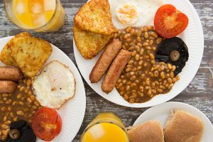 Vegetarian English Breakfast
