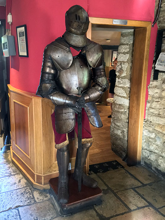 Armour at The Black Prince