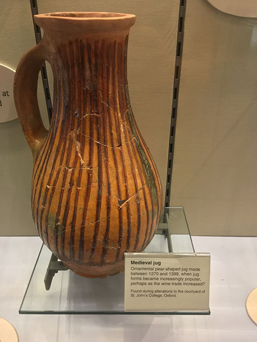 The Oxfordshire Museum. Jug
