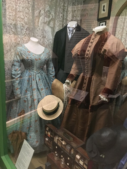 The Oxfordshire Museum. Dresses