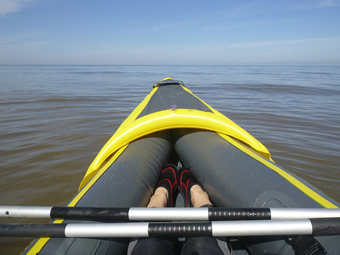 Kayaking, the view from the kayak