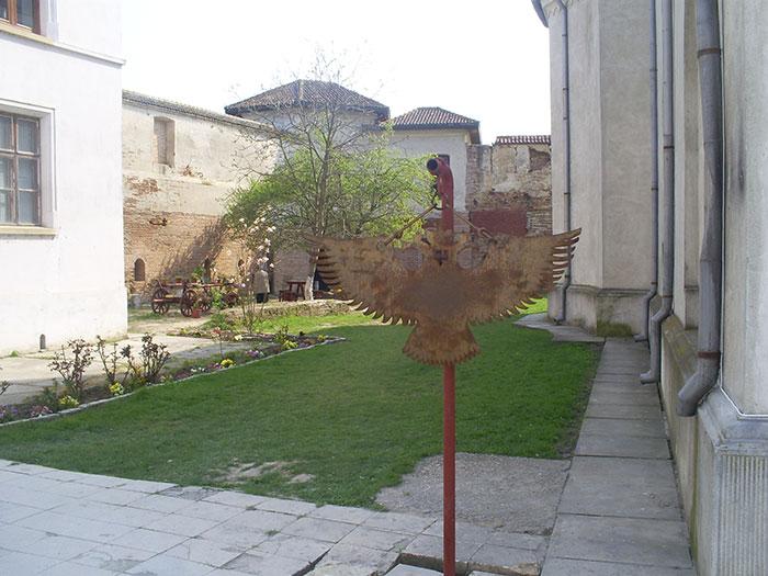 Comana Monastery garden