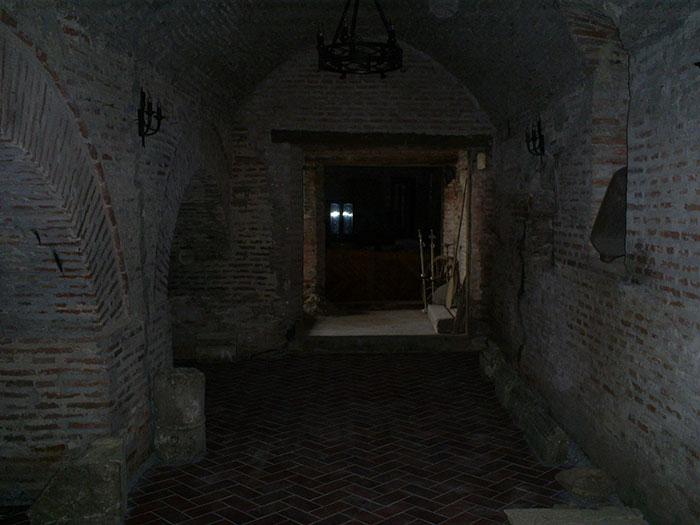 Comana Monastery cellar