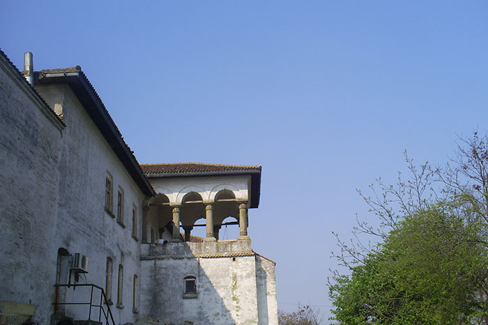 Comana Monastery tower