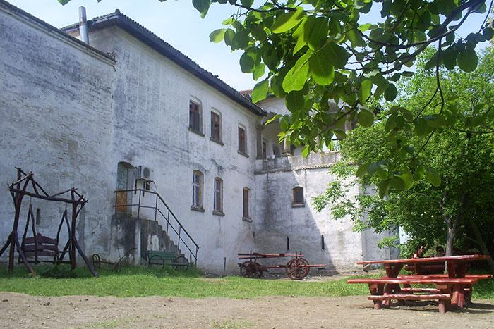 Comana Monastery building