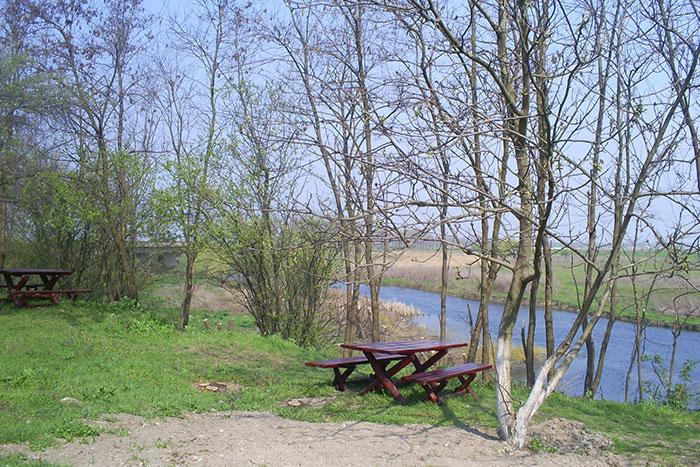 Comana Monastery picnic area