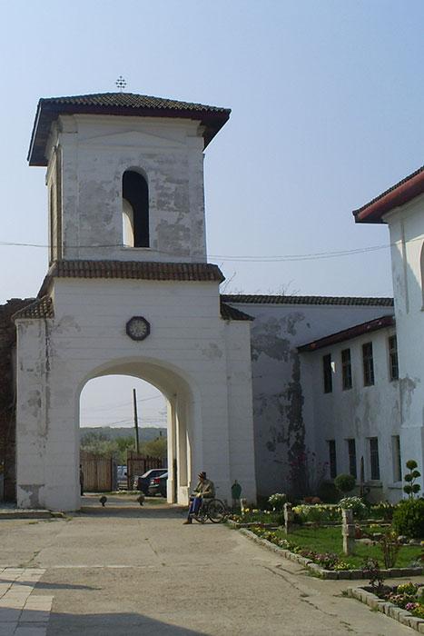 Comana Monastery entrance