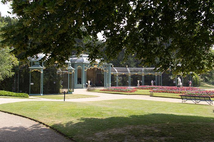 Aviary at Waddesdon Manor