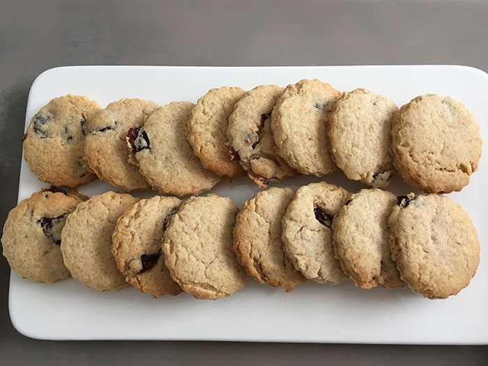 Cherries Biscuits