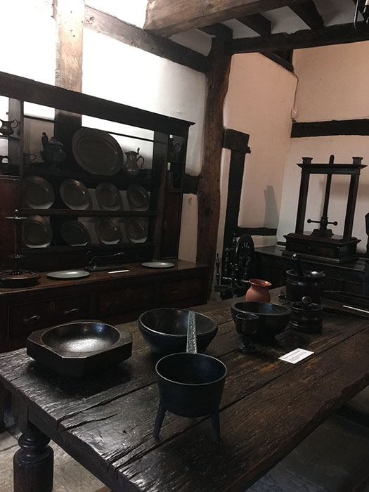 Kitchen at Hall i'th' Wood Museum