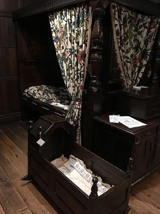 Hall i'th' Wood Museum. Bedroom
