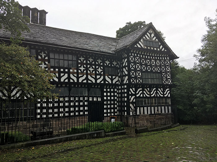 Exterior of Hall i'th' Wood Museum