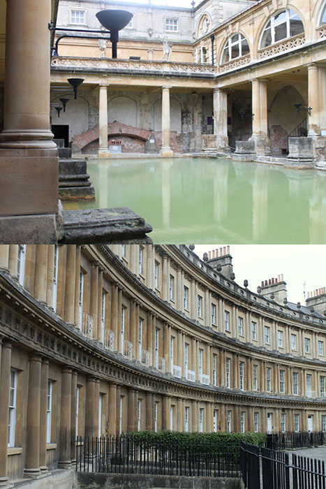 Bath Circus and Roman Baths