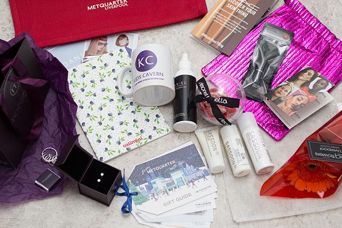 Christmas Press Day Metquarter. Goodie bag, what's inside