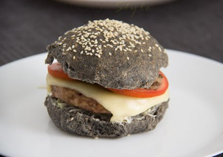 Recipes for Halloween - Black bread