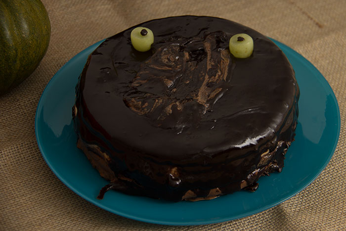 Recipes for Halloween - Black cake - 2017