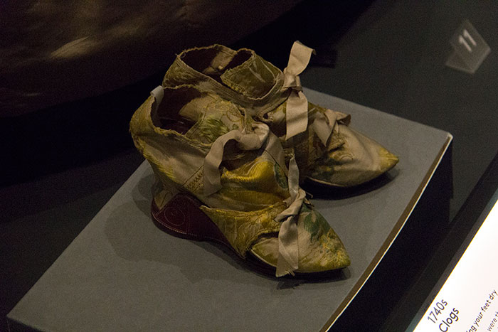 Shoes at Fashion Museum Bath