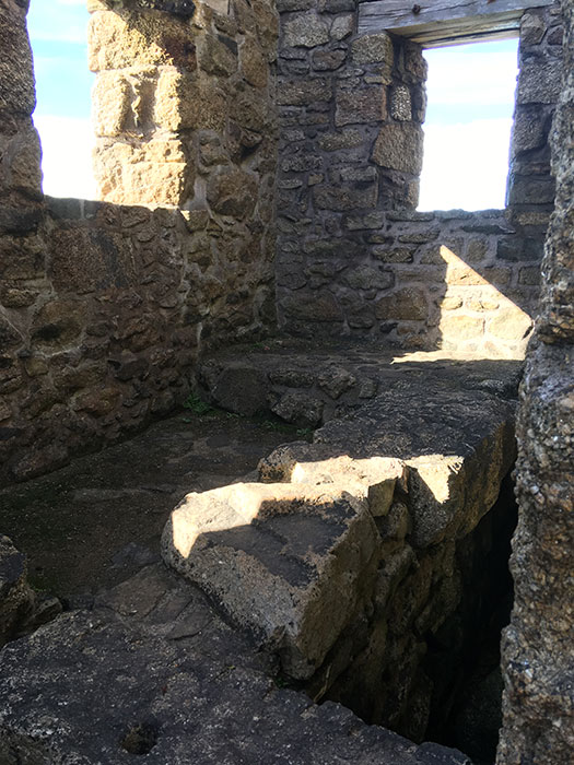 Botallack Mines. Interior