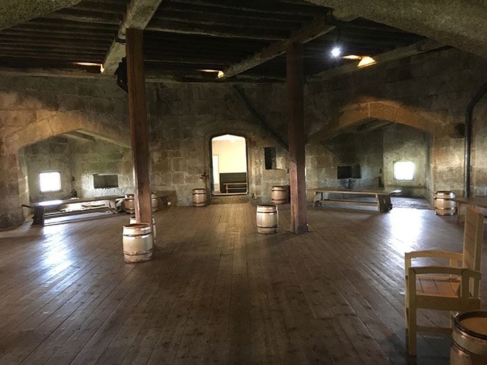 Inside Pendennis Castle