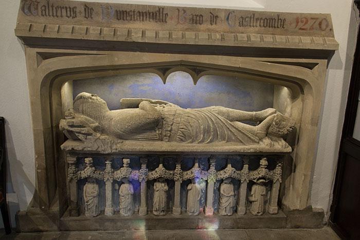 Tomb of Walter de Dunstanville