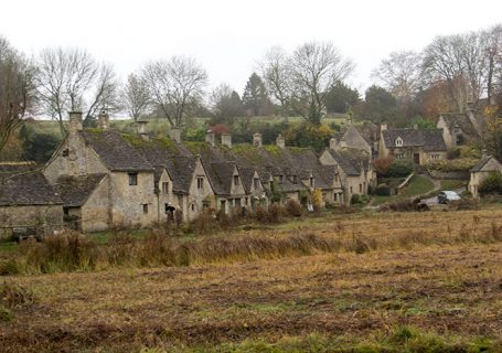 Bibury. Arlington Row