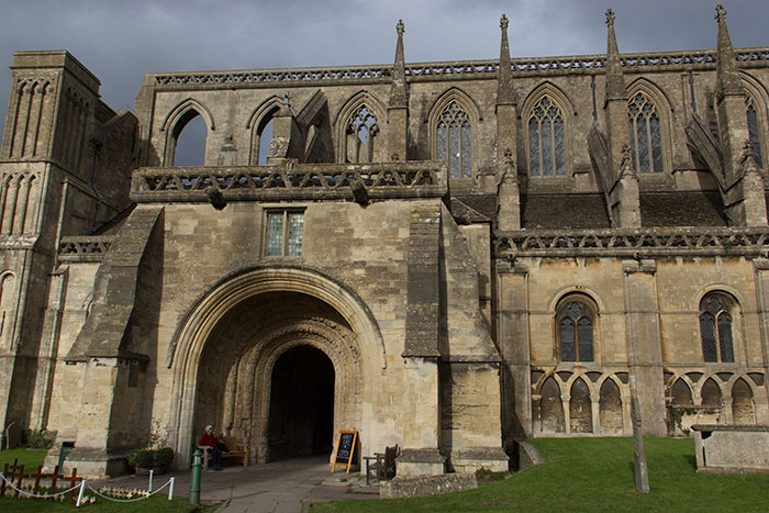 Malmesbury Abbey. Exterior