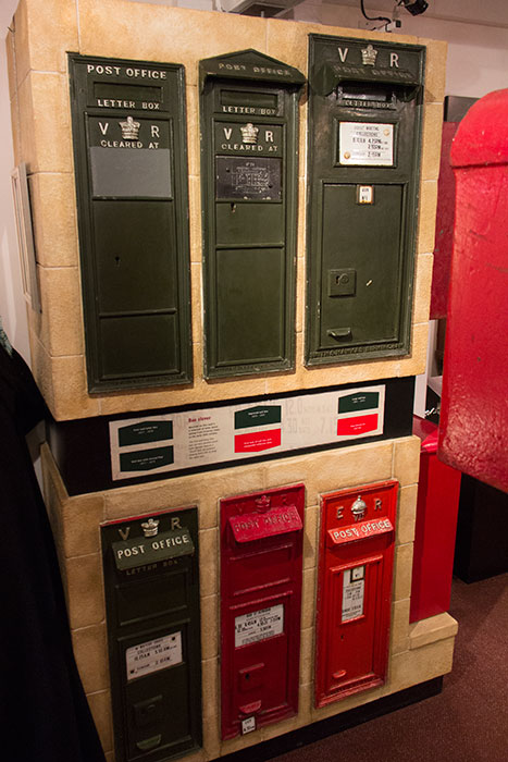 Post Boxes at Bath Postal Museum