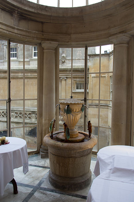 Pump Rooms at the Roman Baths