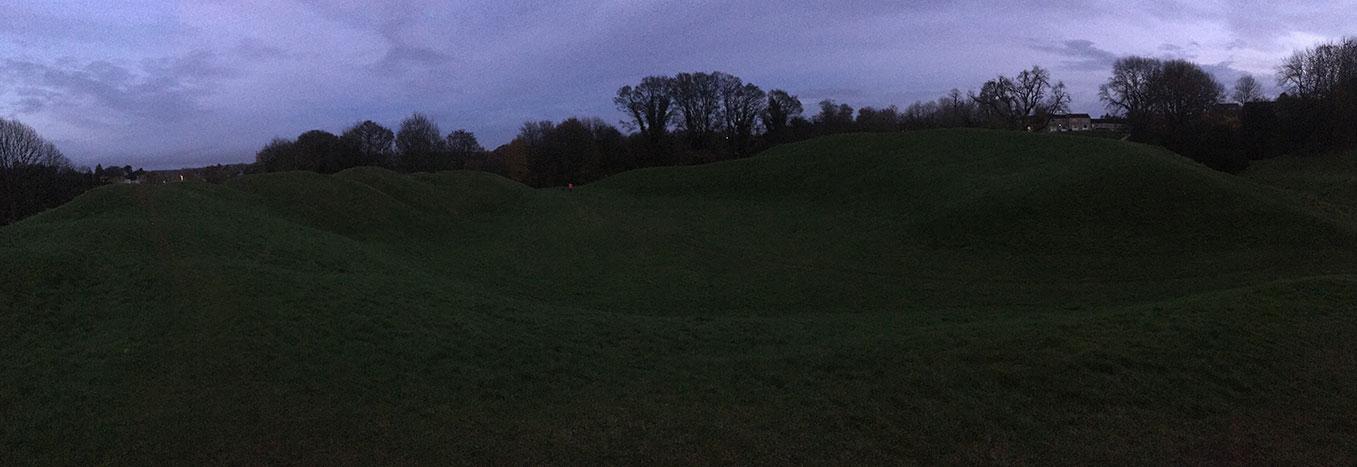 Roman Amphitheater. Cirencester