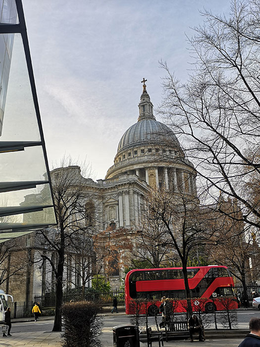 St Paul's Cathedral. Imagine from outside
