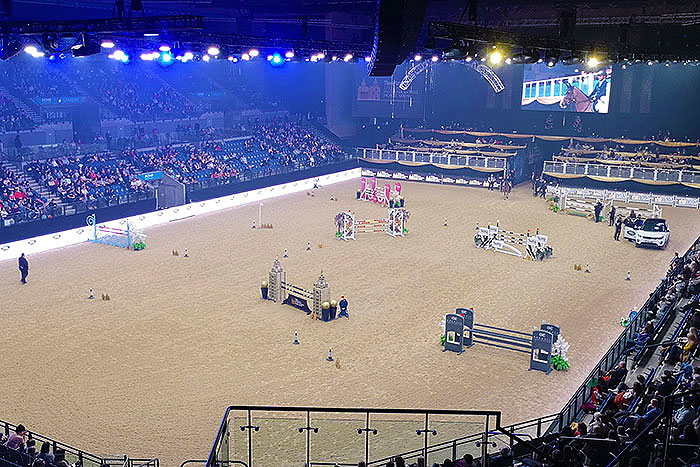 Liverpool International Horse Show. Ride and drive