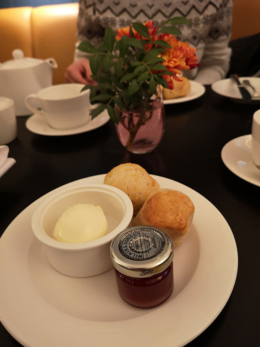 Cream tea at St Paul's Cathedral