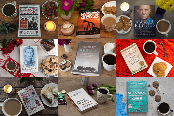9 Books I loved Last Year. Collage of picture of these nine books.