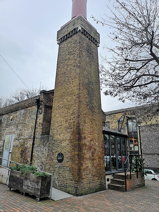 Brunel Museum. The engine house