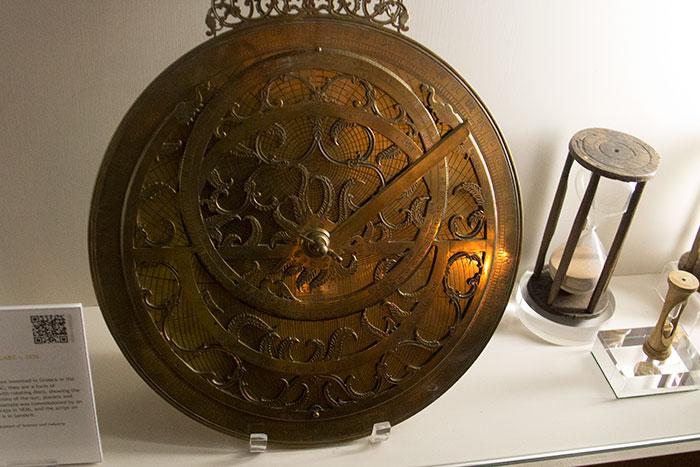 Herschel Museum of Astronomy. Astrolabe