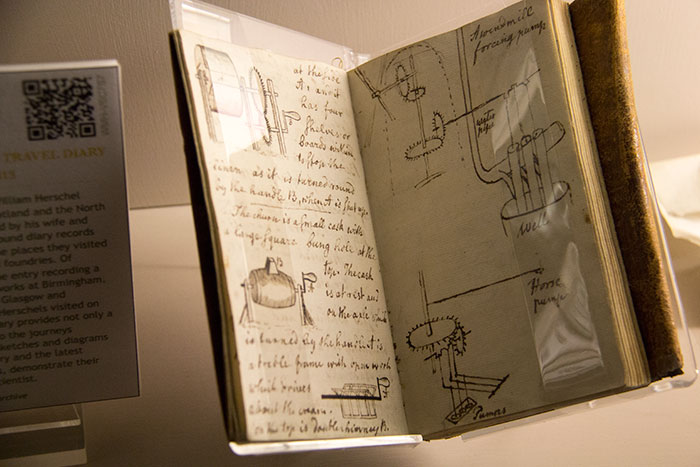 Herschel Museum of Astronomy. Diary