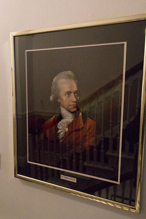 Herschel Museum of Astronomy. Painting