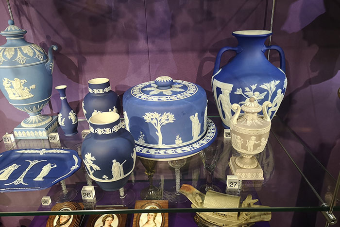 Wedgwood on display at Preston Park Museum