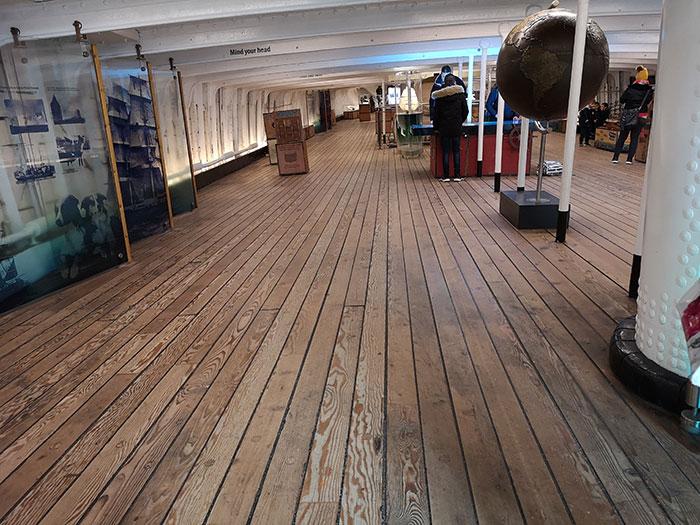 Deck. Cutty Sark