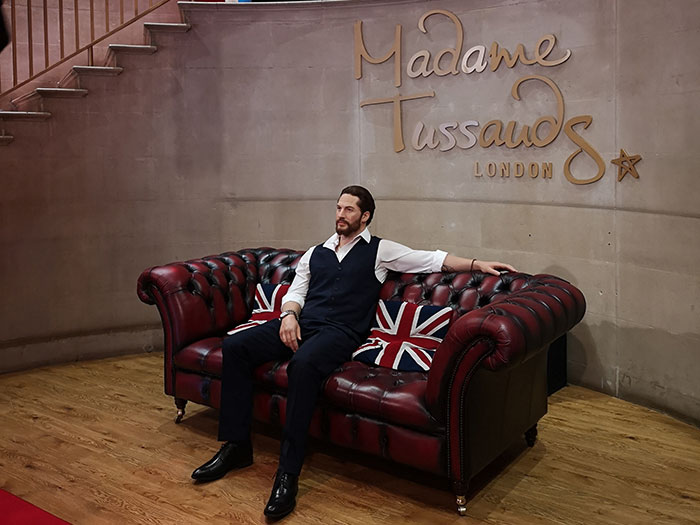 Madame Tussauds. Entrance