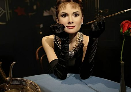 Audrey Hepburn at Madame Tussauds