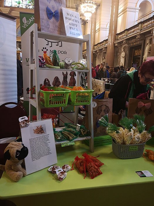 Stand at Live A Better Life Vegan Fair