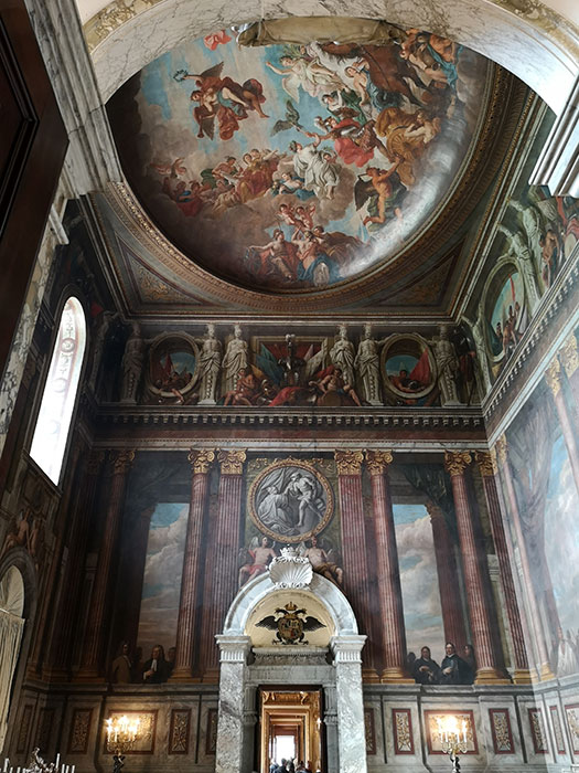 Blenheim Palace - ceiling