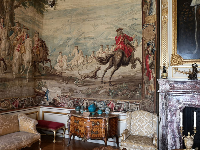 Blenheim Palace - tapestry
