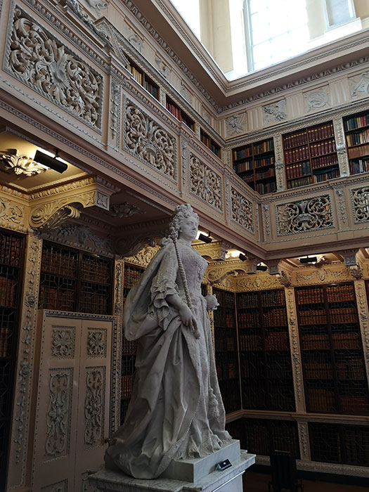 Blenheim Palace - long library