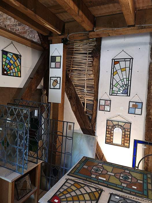 image with stain glass workshop