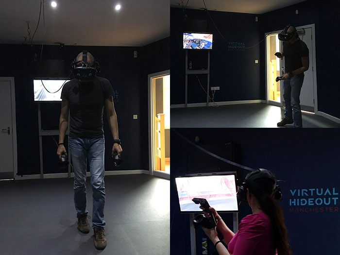 VR - Virtual Hideout - Buckt - Greater Manchester