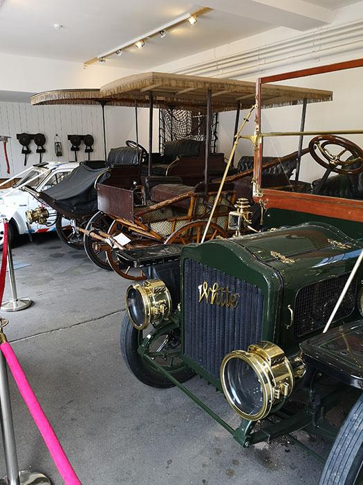 Car Display at Balmoral